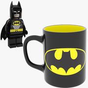 Бэтмен Кружка и Лего 3d model