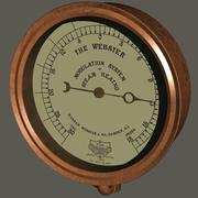 """Jahrgang """"The Webster"""" Dampfheizung Modulationsanzeige (1889) 3d model"""