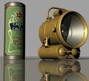 Lampada vintage in acetilene - Lucas: King of the Road - N. 794 3d model