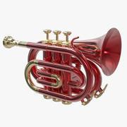 Pocket Trumpet 3d model