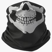 Bandana 01(Skull)+PBR 3d model