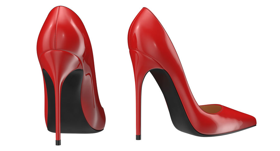 Tacones Altos royalty-free modelo 3d - Preview no. 20