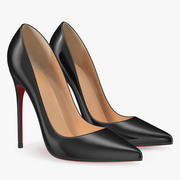 Tacones altos zapatos de mujer modelo 3d