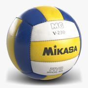 Volleyball 4 Mikasa 3d model
