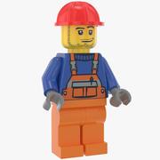 Lego Robotnik budowlany 2 3d model