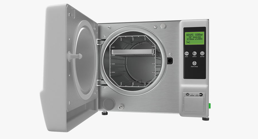 Autoclave Generic Closed royalty-free 3d model - Preview no. 7
