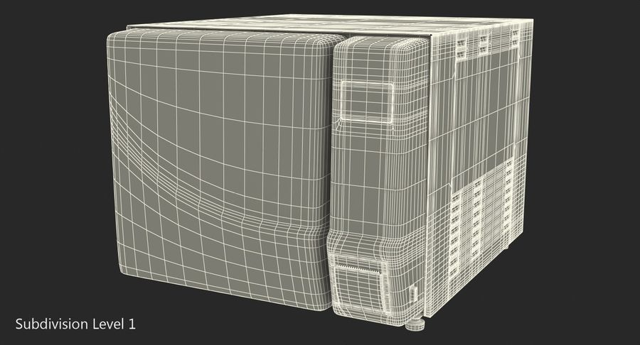 Autoclave Generic Closed royalty-free 3d model - Preview no. 11