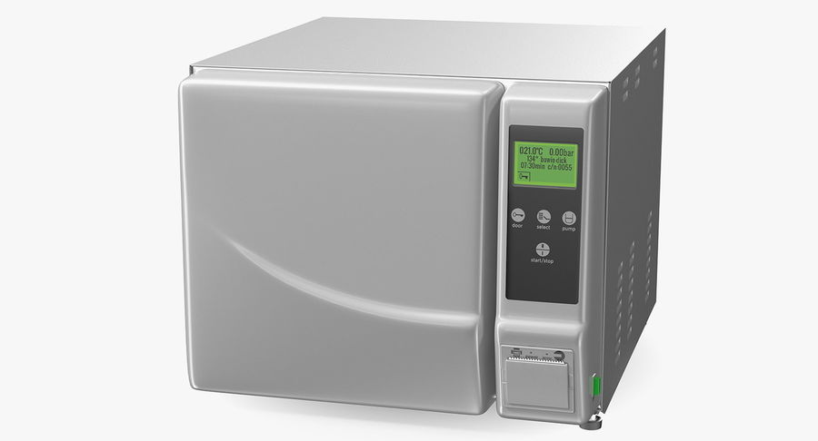 Autoclave Generic Closed royalty-free 3d model - Preview no. 2