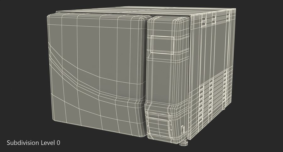 Autoclave Generic Closed royalty-free 3d model - Preview no. 10