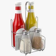 Condimentos Holder 3d model