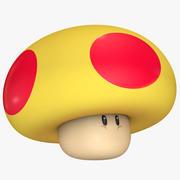 Mega Mushroom Super Mario Assets 3d model