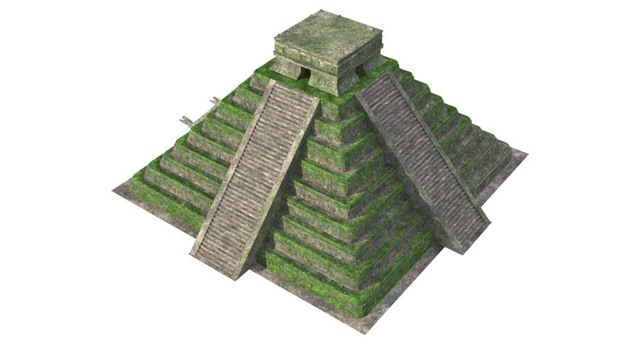 Pirámide royalty-free modelo 3d - Preview no. 6