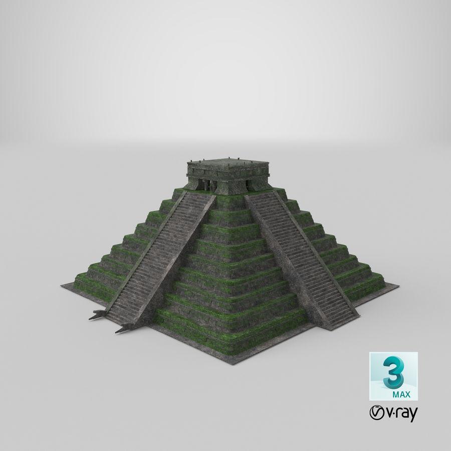 金字塔 royalty-free 3d model - Preview no. 13