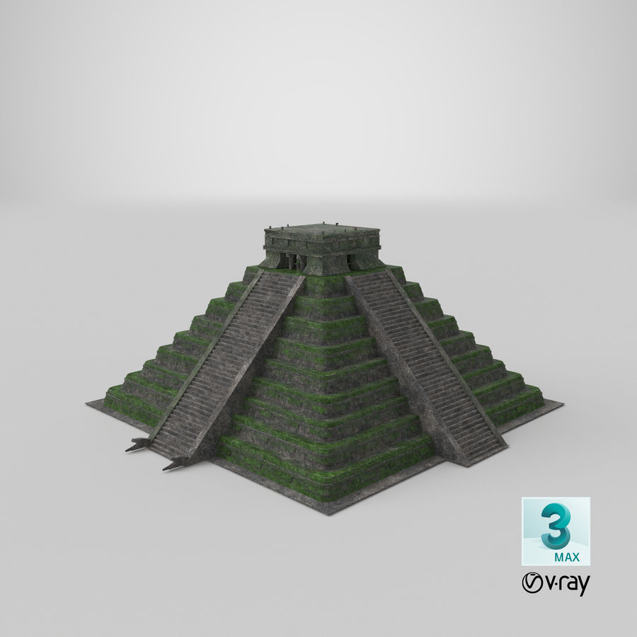 Pirámide royalty-free modelo 3d - Preview no. 13