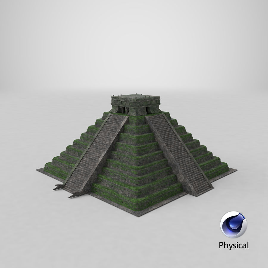 Pyramid royalty-free 3d model - Preview no. 15