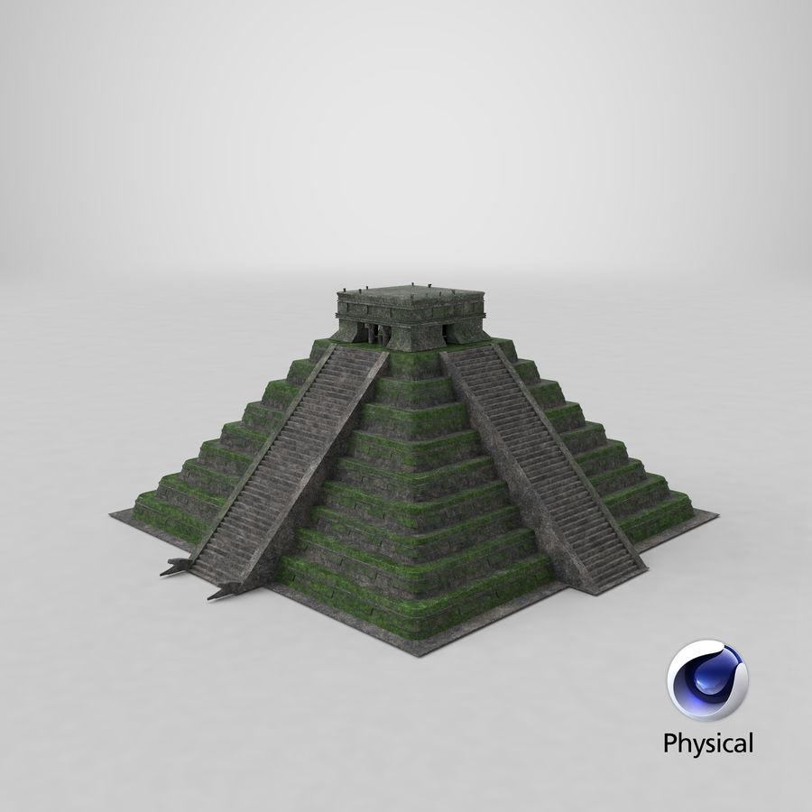 金字塔 royalty-free 3d model - Preview no. 15