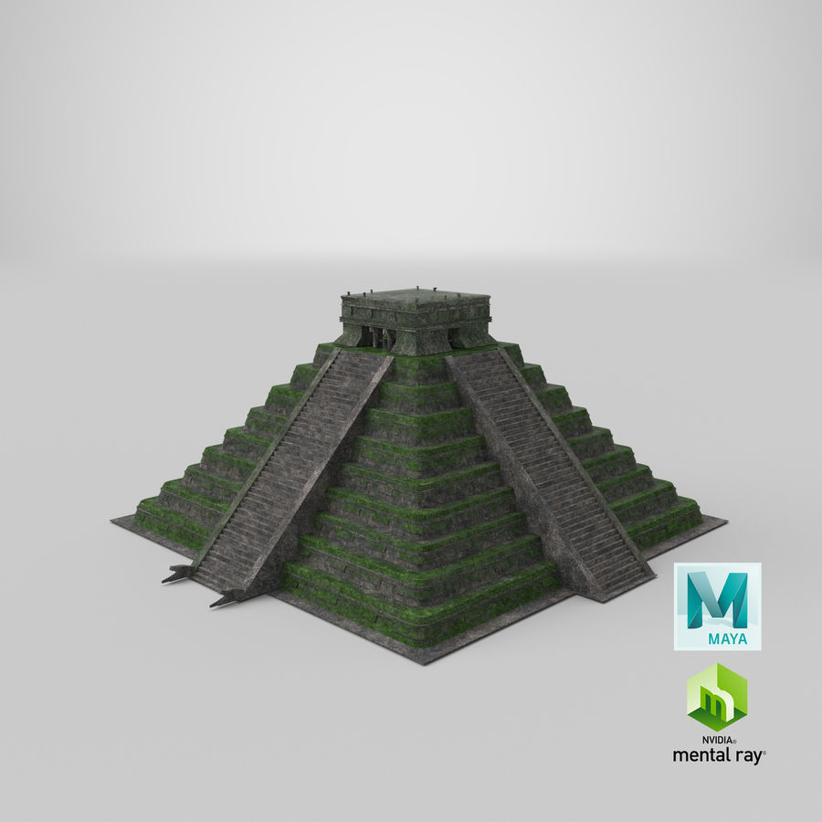 Pyramid royalty-free 3d model - Preview no. 12