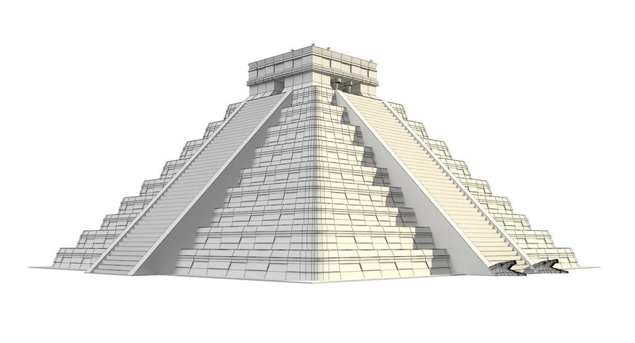 Pirámide royalty-free modelo 3d - Preview no. 8