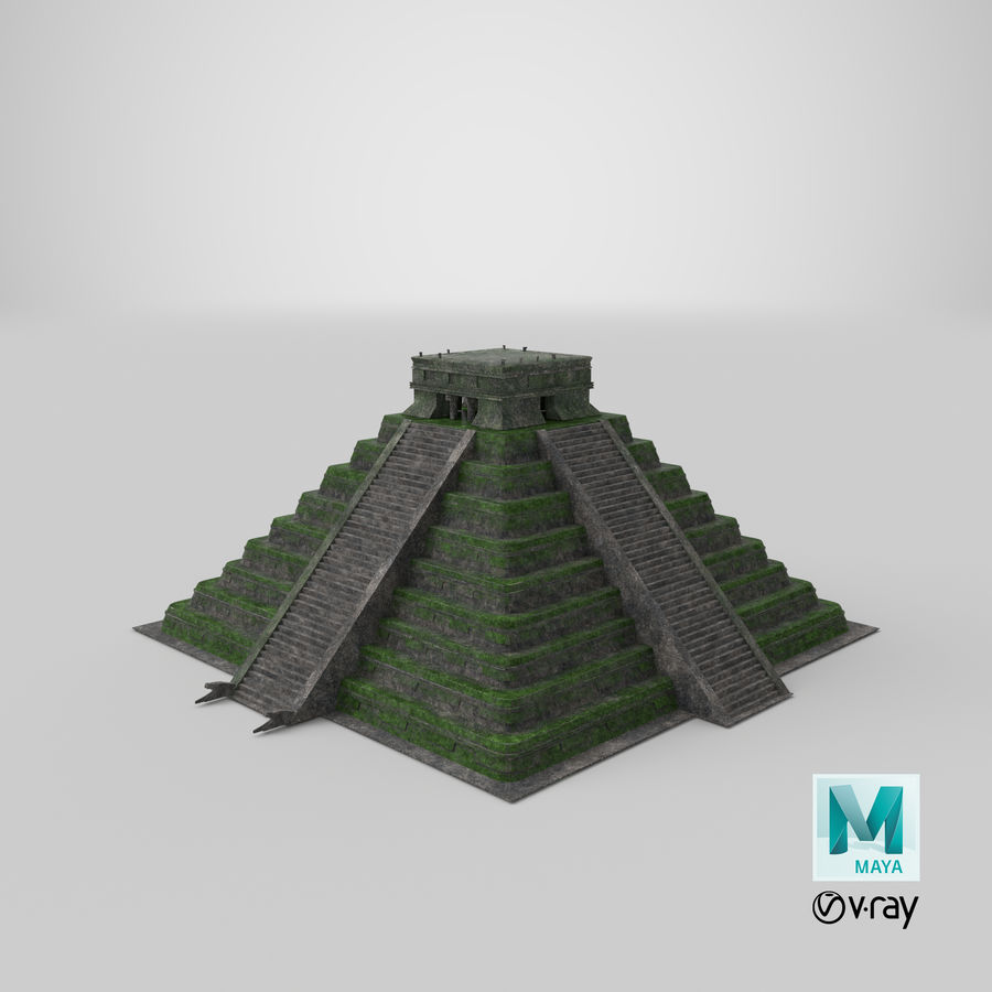 Pirámide royalty-free modelo 3d - Preview no. 11