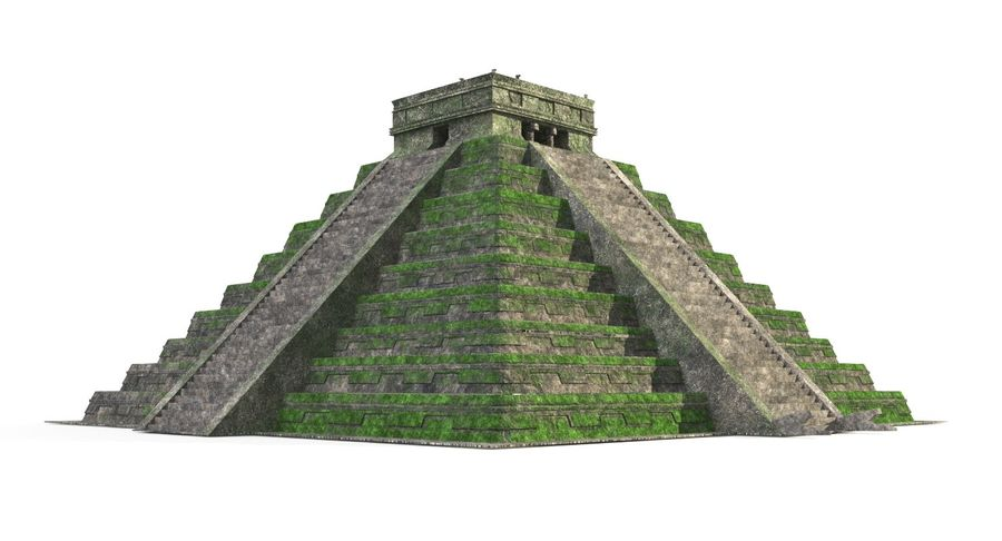 Pyramid royalty-free 3d model - Preview no. 2