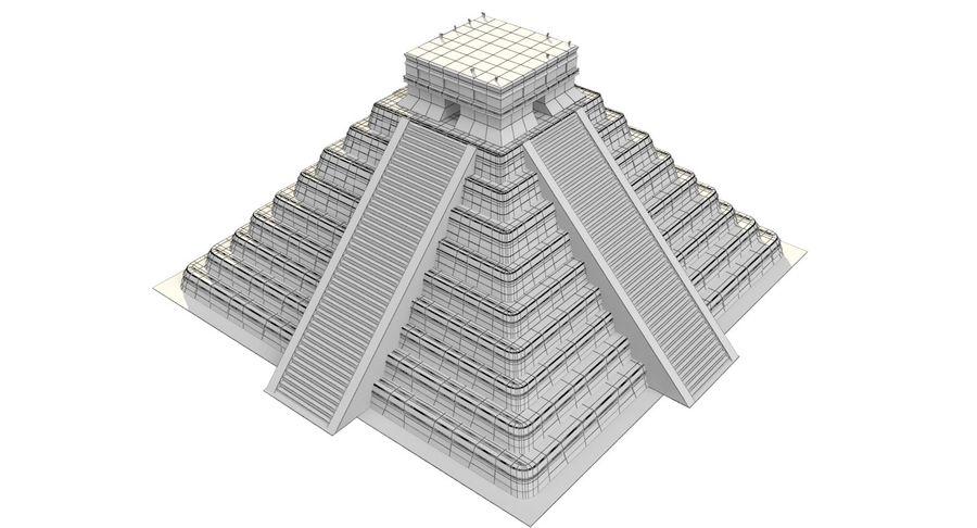 Pirámide royalty-free modelo 3d - Preview no. 9