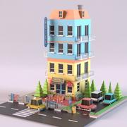 Hôtel 01 3d model