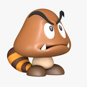 Risorse Goomba Super Mario 3d model