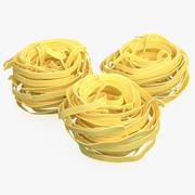 Raw Pasta Nest 3d model