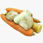 Gemüse Greens1 3d model