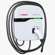 博世EV200充电站 3d model