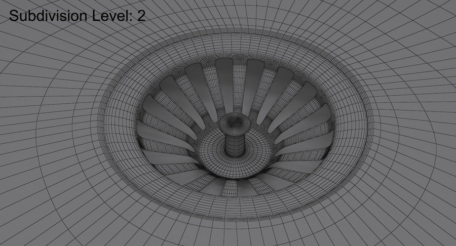 Évier et robinet royalty-free 3d model - Preview no. 26