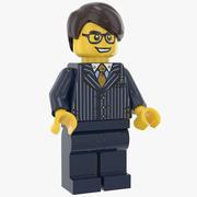 Lego Erkek Yönetici 3d model