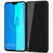 Huawei Y9 2019 Czarny 3d model