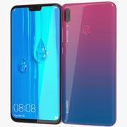 Huawei Y9 2019 Aurora Roxo 3d model