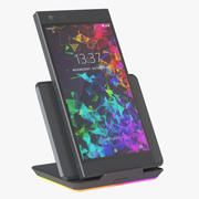 Razer Phone 2 with Charger 3d model