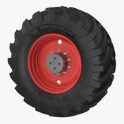Michelin Tractor Wheel 3d model
