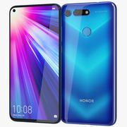 Honor View 20 Phantom Blue 3d model