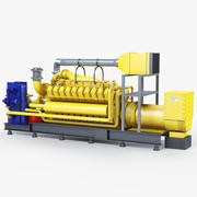 Industrial Engine 3d model