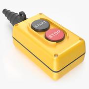 Bouton poussoir de démarrage / arrêt à 2 boutons 3d model