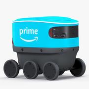 Скаутский робот доставки 3d model