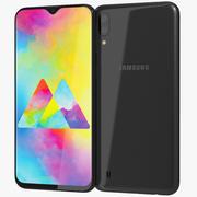Samsung Galaxy M10 Charcoal Black 3d model