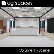 CG空间第1卷场景01 3d model