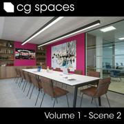 CG空间卷1场景02 3d model