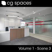 CG空间第1卷场景03 3d model