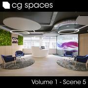 CG空间卷1场景5 3d model