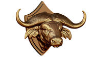 Hoofd Buffalo 3d model