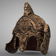 Theodens Helmet L059 3d model