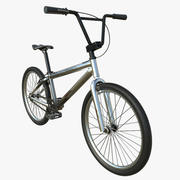 BMX Bicycle PBR Textures 3d model
