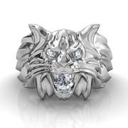 Wild Cat Ring 3d model