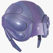 Sci Fi-helm PBR 3d model